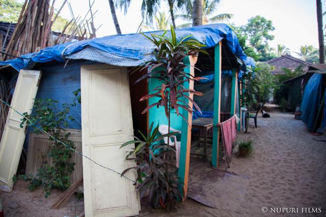 パロレムビーチの宿