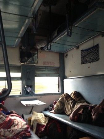 インド寝台列車