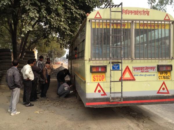 アラハバードからバス