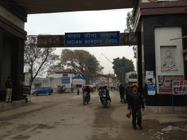 インド国境