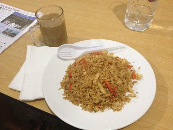 シンガポール宿の朝ご飯