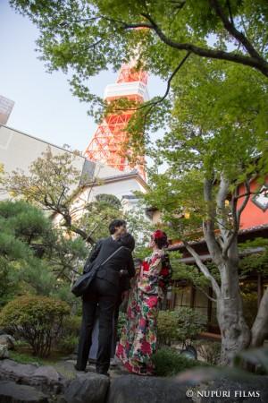 東京タワー結婚式