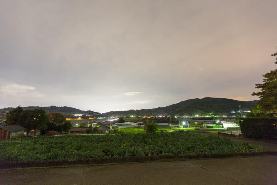 函南町丹那盆地夜