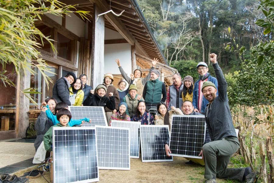 ミニ太陽光発電組立やまでんワークショップ